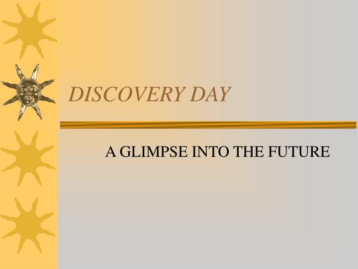 discovery day n.