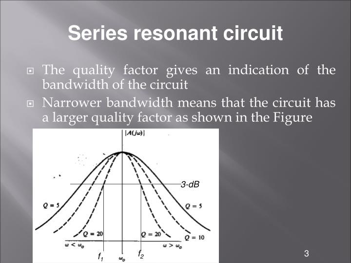 Series resonant circuit1