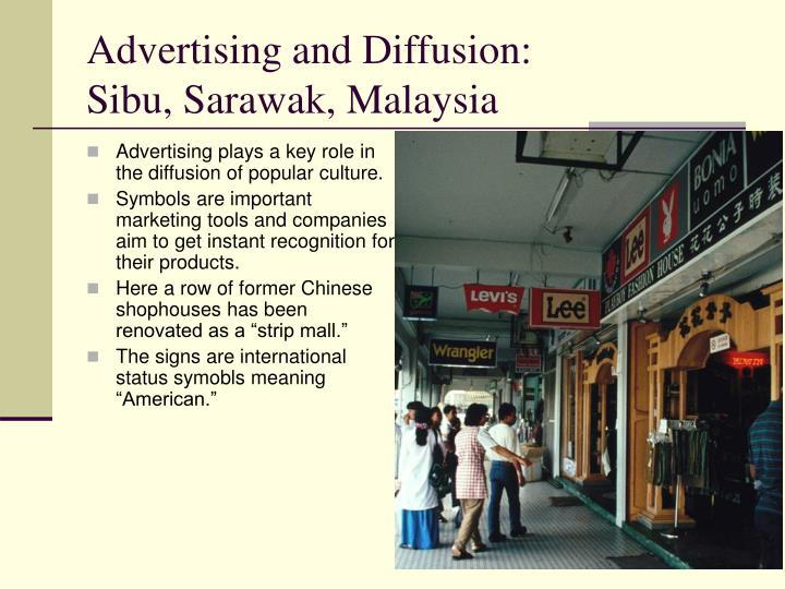 Advertising and Diffusion: