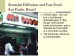 stimulus diffusion and fast food sao paulo brazil1