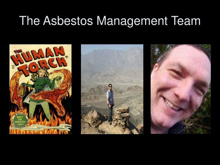 The asbestos management team