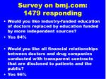 survey on bmj com 1479 responding1