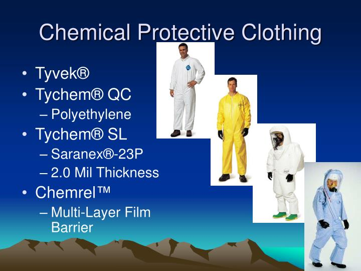 Ppt Respiratory Protection Personal Protective Clothing
