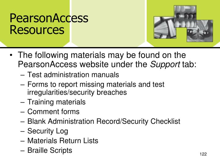 PearsonAccess