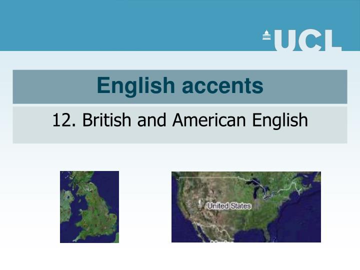 english accents n.
