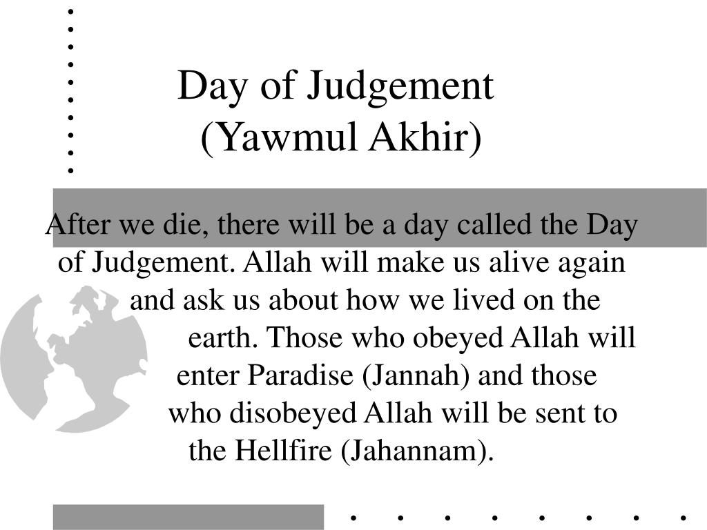 Day of Judgement