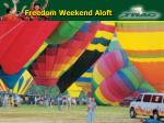 freedom weekend aloft