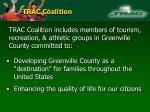 trac coalition