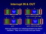 interrupt in out