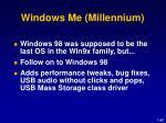 windows me millennium