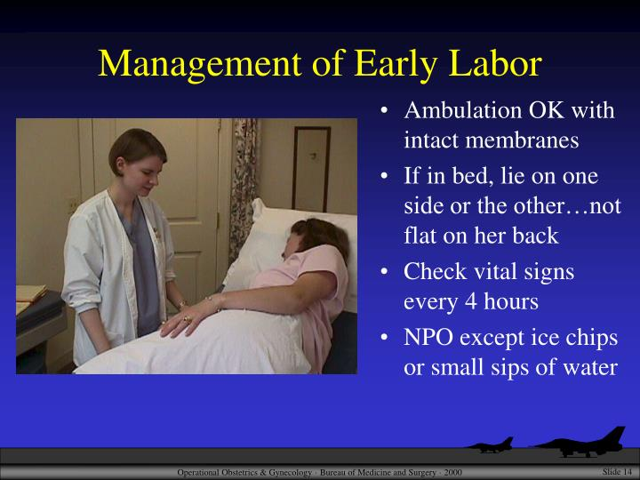 Management of Early Labor