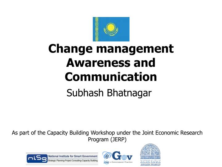 change management awareness and communication n.