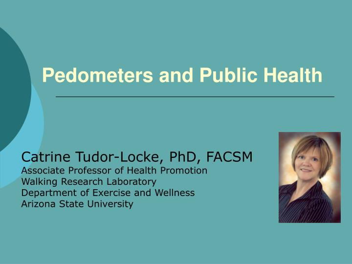 pedometers and public health n.