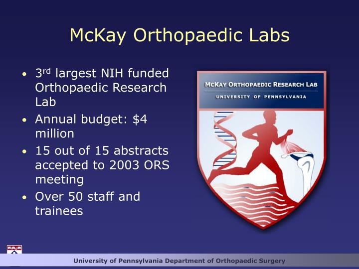 McKay Orthopaedic Labs