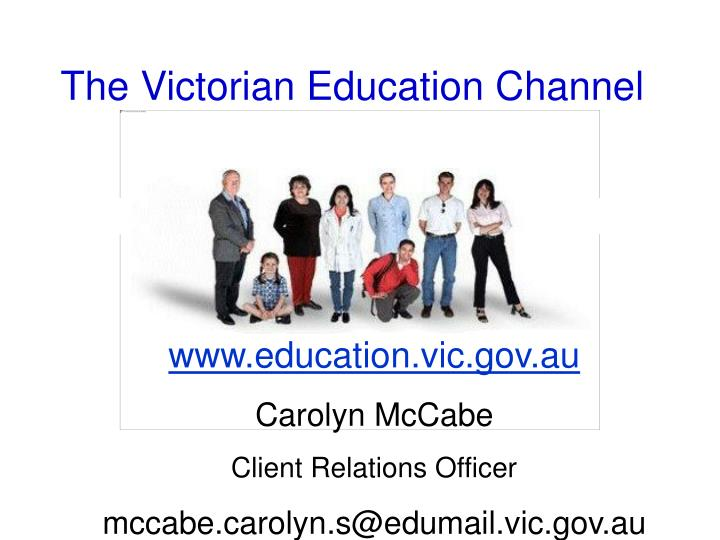 the victorian education channel n.