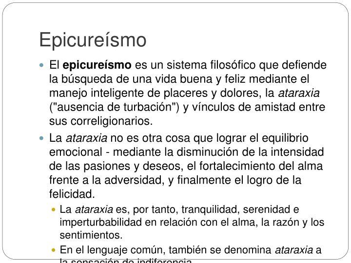 Epicure smo