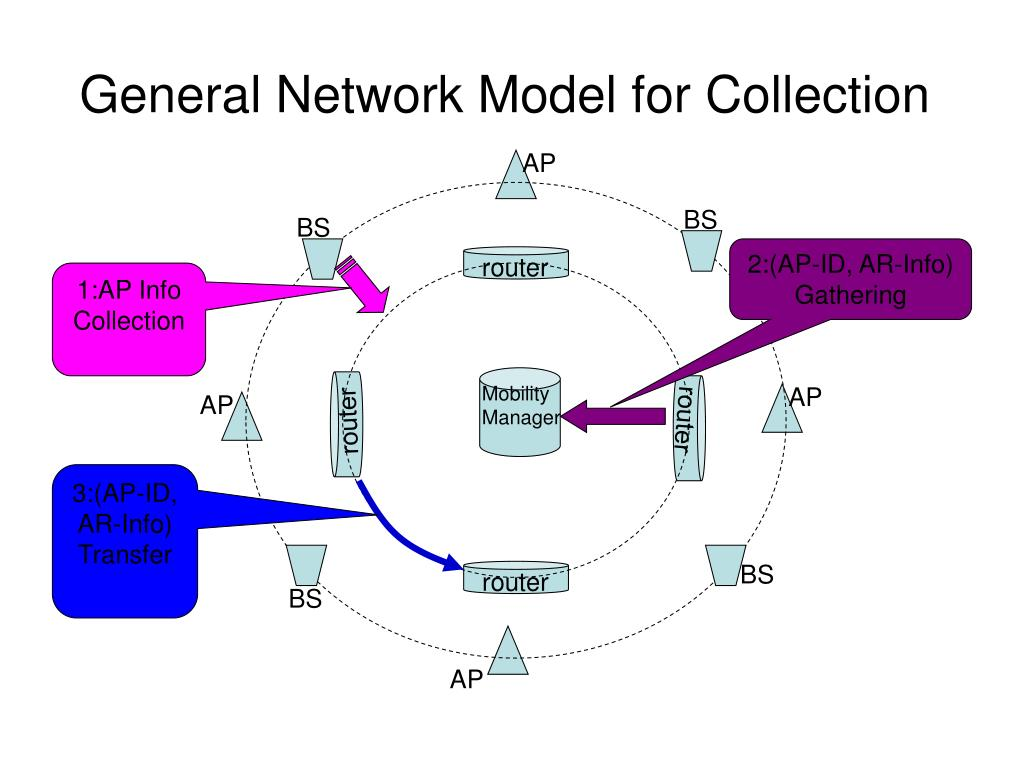 General Network Model for Collection