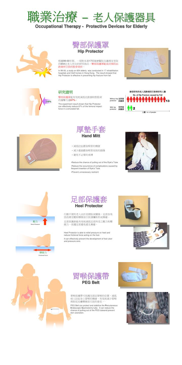 occupational therapy protective devices for elderly n.