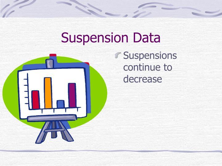 Suspension Data