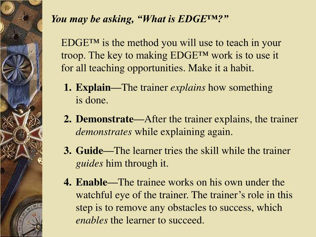 """You may be asking, """"What is EDGE™?"""""""