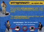 entrepreneurs use context clues