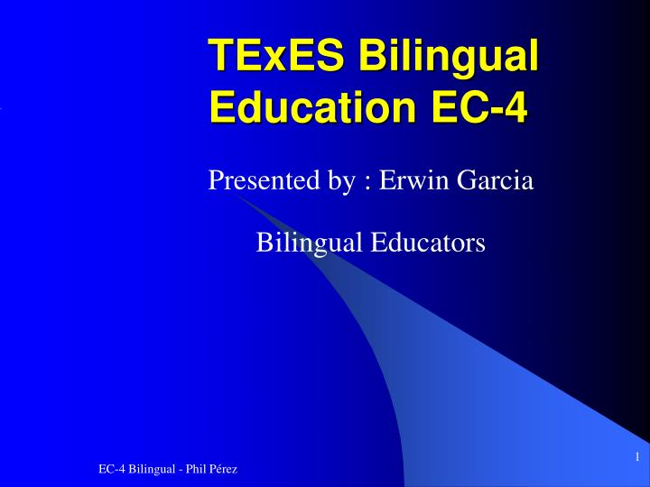 an argument in favor of bilingual education Esl vs bilingual education - it's a controversy that has swept through schools around the country the main difference between esl and bilingual education is the language of instruction in an esl class, students are taught purely in english, with their second language relegated to recess discussions.
