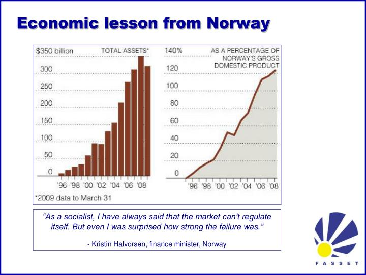 Economic lesson from Norway
