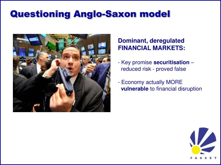 Questioning anglo saxon model