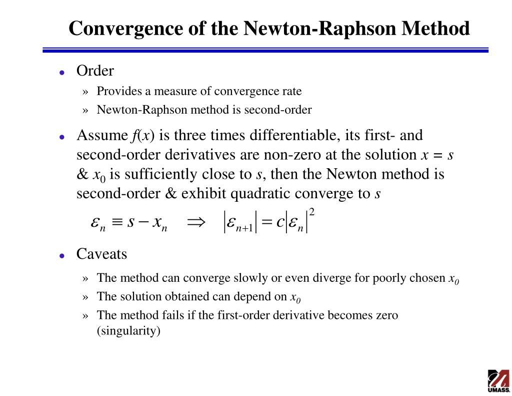 PPT - Nonlinear Algebraic Systems PowerPoint Presentation