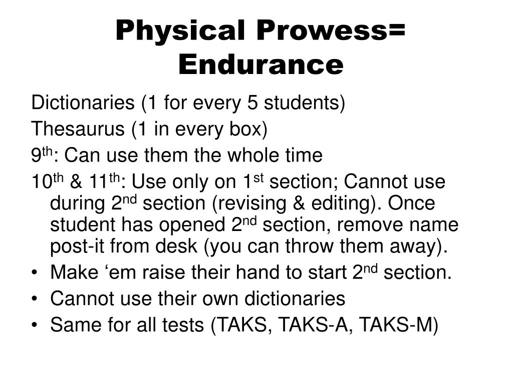 Physical Prowess=