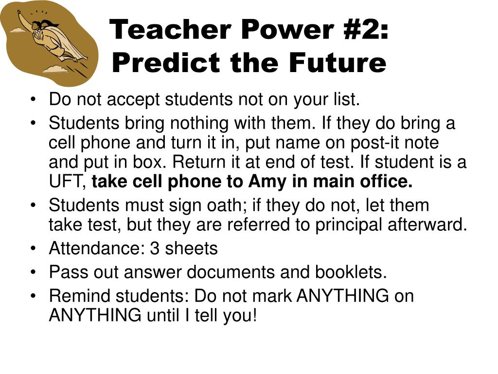 Teacher Power #2: