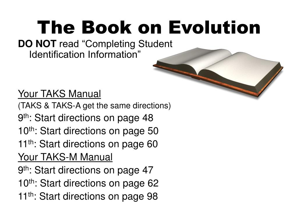 The Book on Evolution
