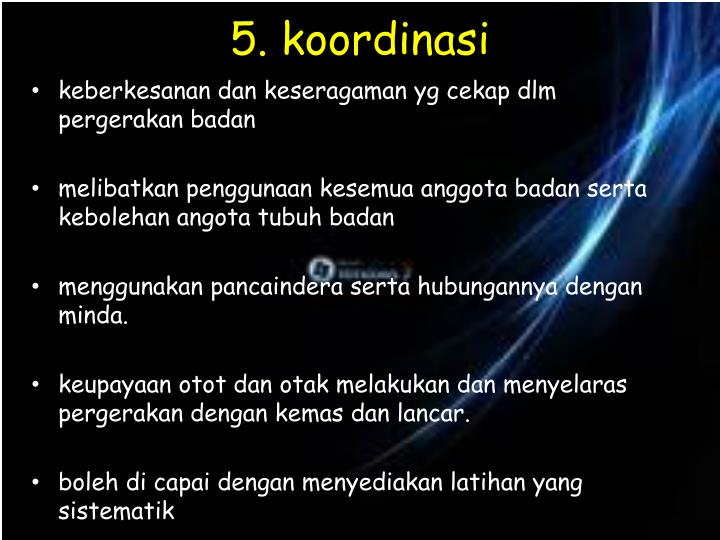 5. koordinasi