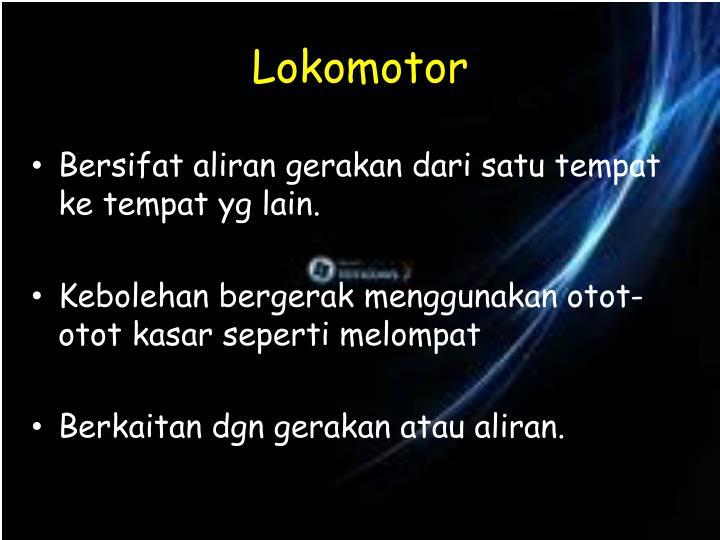 Lokomotor