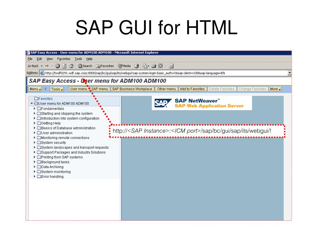 PPT - SAP System Architecture PowerPoint Presentation - ID