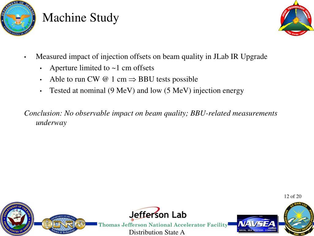Machine Study