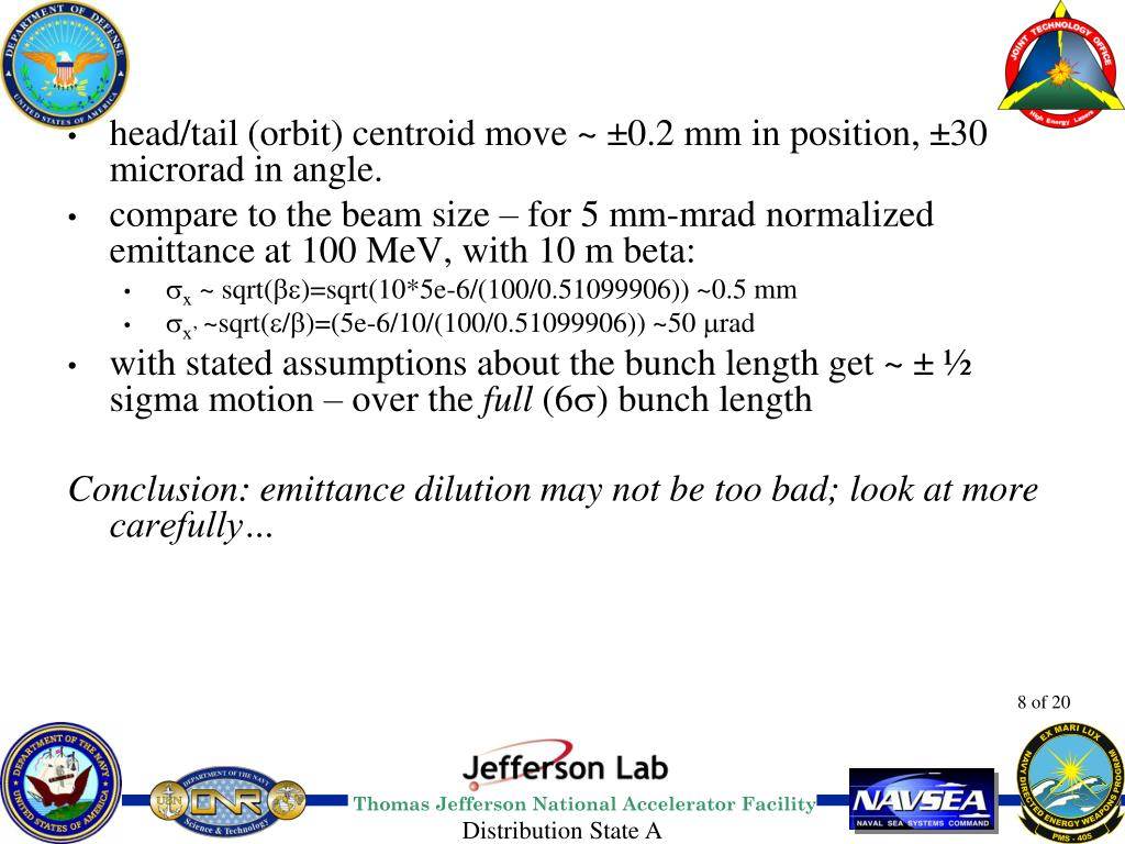 head/tail (orbit) centroid move ~ ±0.2 mm in position, ±30 microrad in angle.