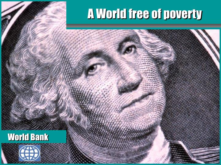 a world free of poverty n.