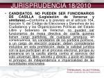 jurisprudencia 18 2010
