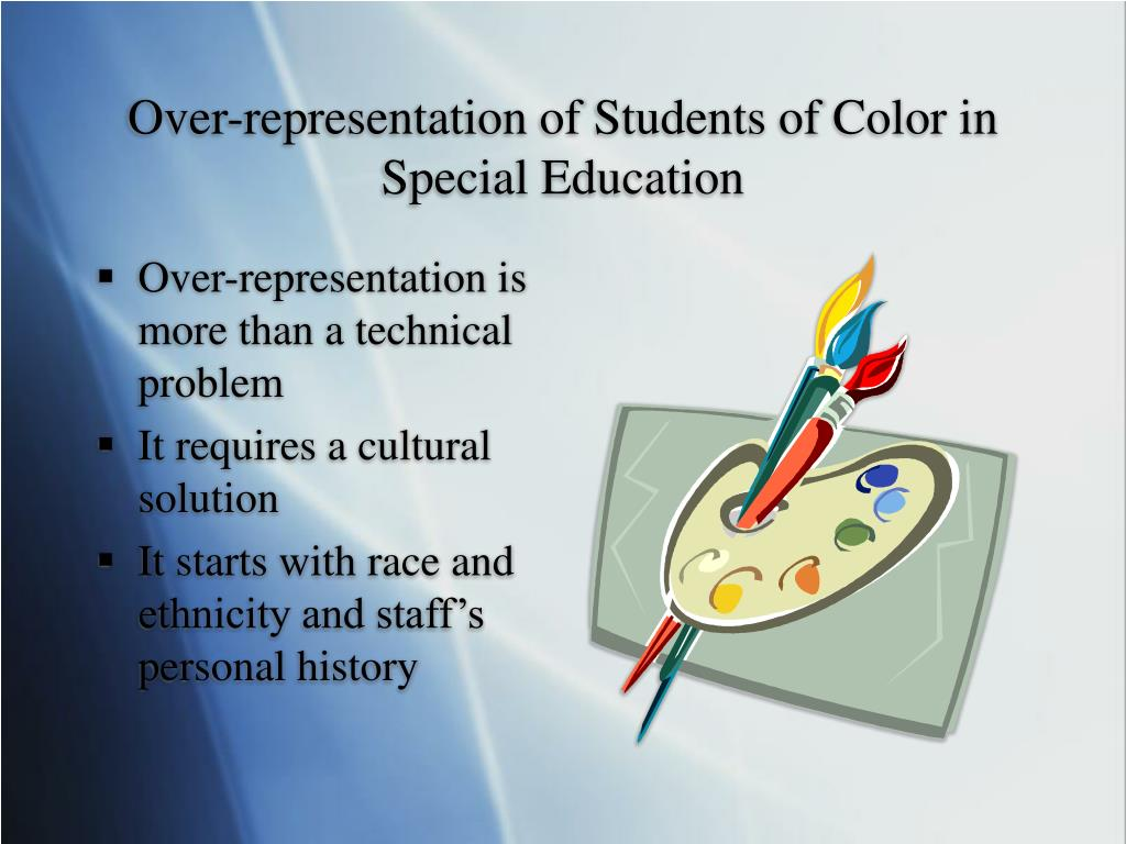 Over-representation of Students of Color in Special Education