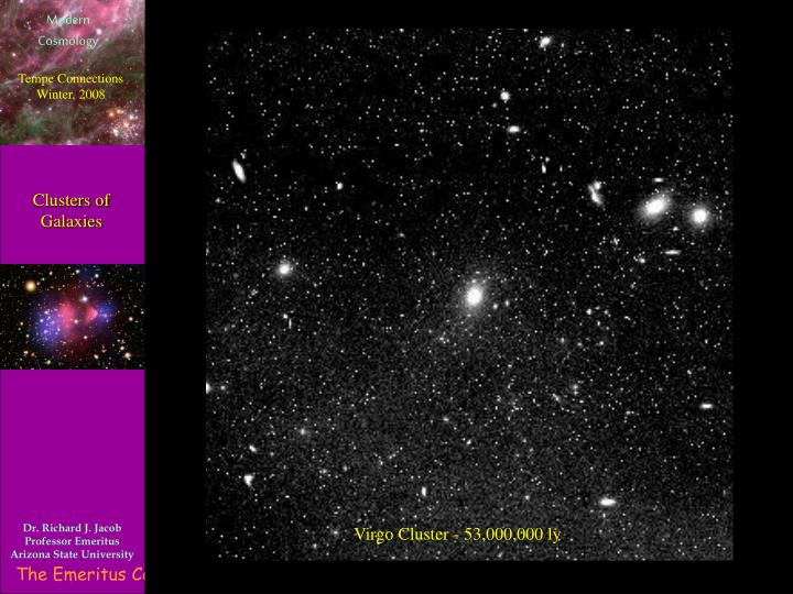 Clusters of