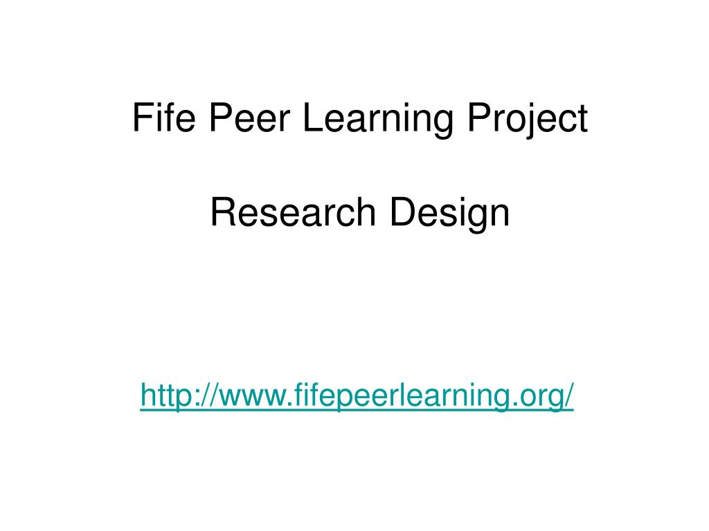 Fife Peer Learning Project
