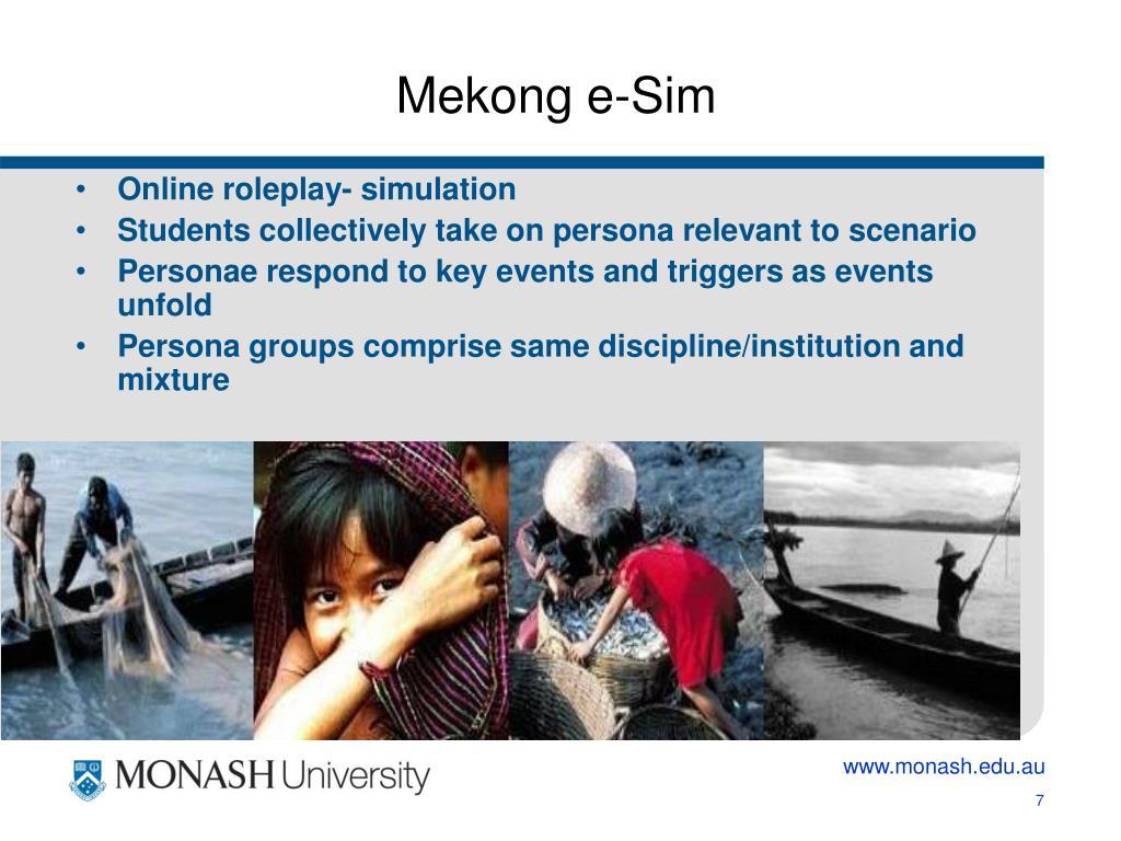 Mekong e-Sim