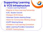 supporting learning vcs infrastructure