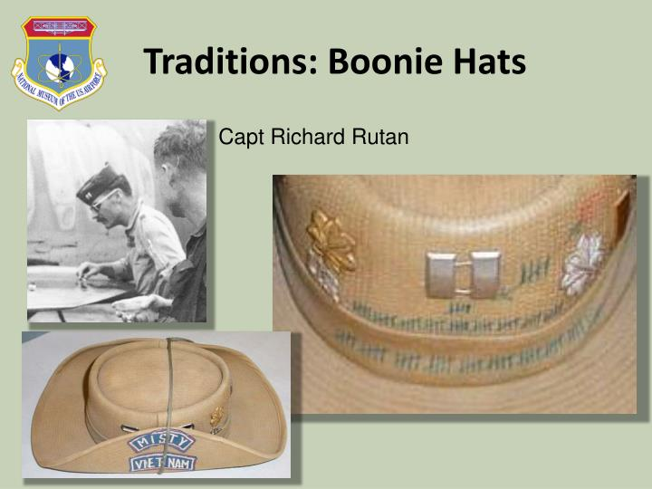 Traditions: Boonie Hats