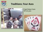 traditions four aces