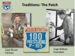 traditions the patch