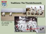 traditions the thunderbuzzards