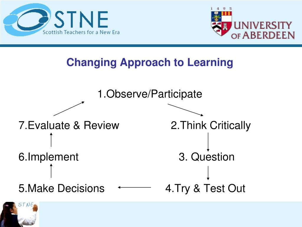 Changing Approach to Learning