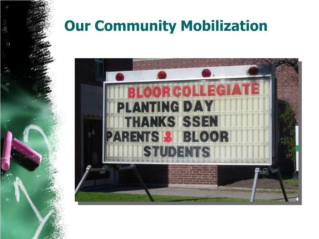 Our Community Mobilization